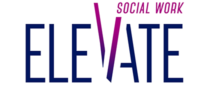 Elevate, Social Work Month 2019 logo